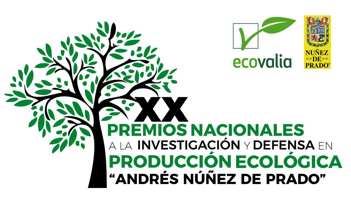 """Resultado de imagen de la XX edición de los """"Premios a la Investigación y Defensa en Producción Ecológica"""